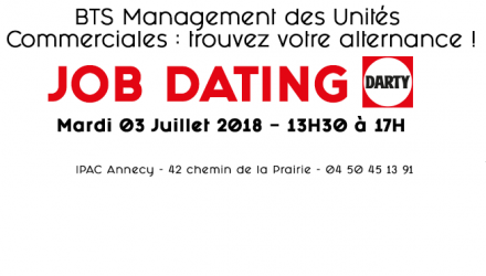 Job Dating spécial Darty le 3 Juillet 2018